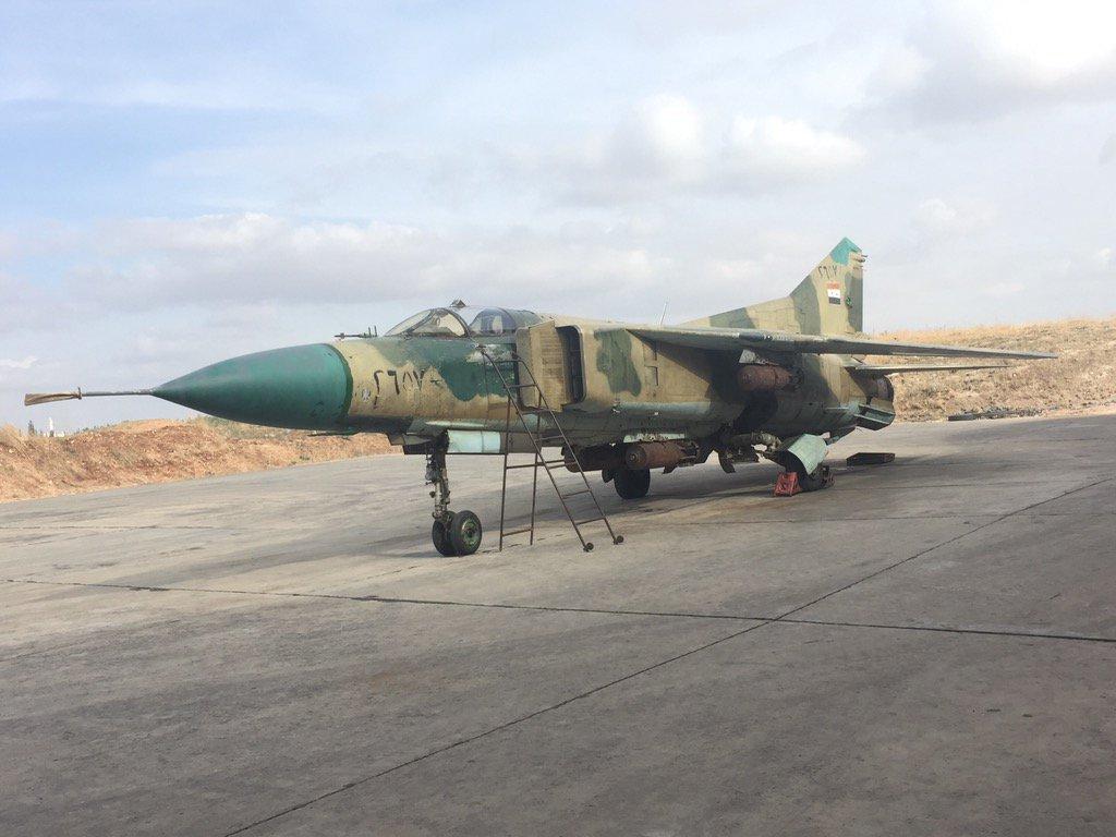 القوات الجويه السوريه .....دورها في الحرب القائمه  CTNPqhnWoAA7stZ