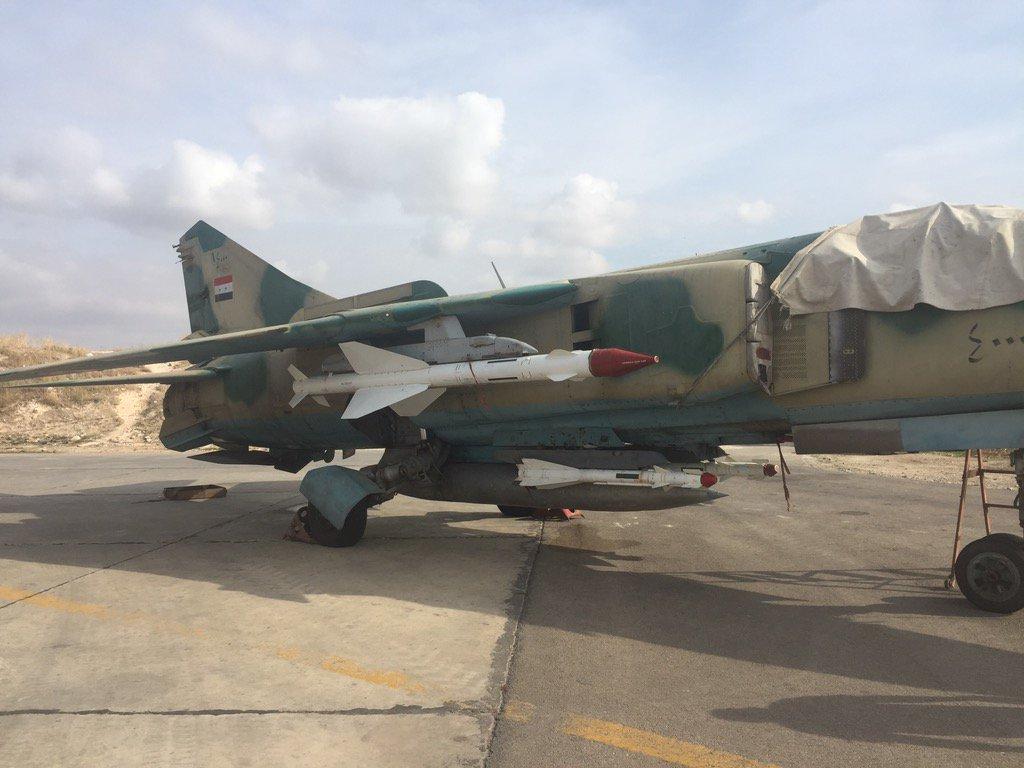 القوات الجويه السوريه .....دورها في الحرب القائمه  CTNQ_SQWEAAaqlf