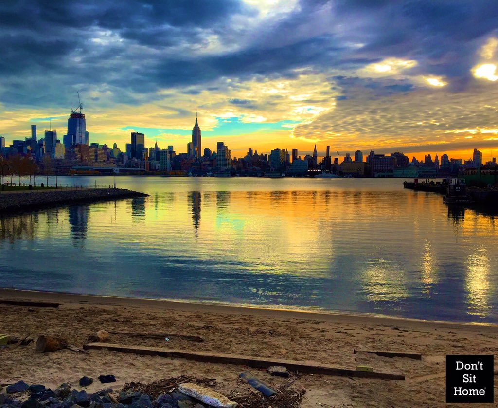 What A Sunrise View From Hoboken This Morning Enjoy Your Saturday