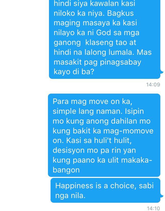 Tagalog Qoutes On Twitter Paano Nga Ba Daw Mag Move On Https