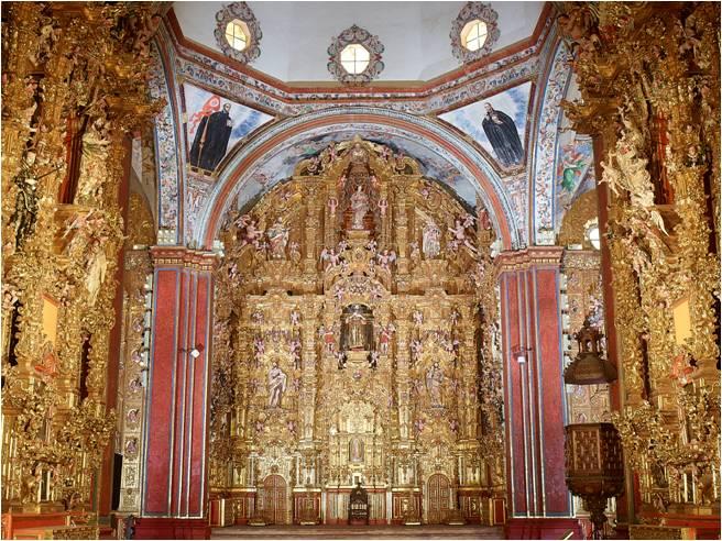 La Iglesia De La Compañía Una Joya Del Arte Barroco En: Iglesia De San Francisco Javier, Joya Del Arte Novohispano
