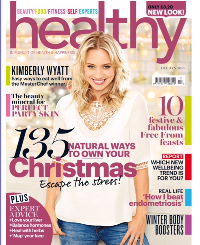 So proud to be the cover of @healthymag !!!!! #Christmaskarma #love #healthy #proud #covergirl #MasterChef https://t.co/PgjgfdUrxp