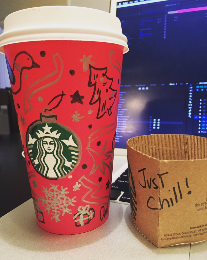 Hey guys, u clearly didn't get what a great opp @starbucks went & gave us with the #redcup! #merrychristmasstarbucks https://t.co/NStntYriVP
