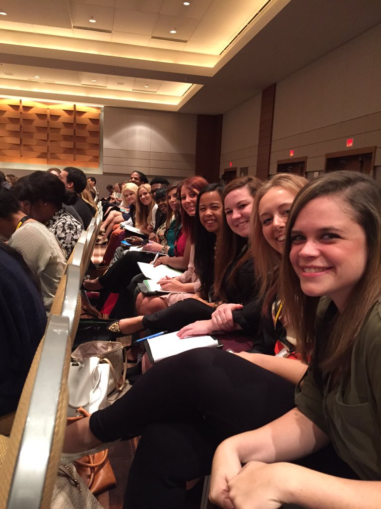 During #PRSAICON Leadership Assembly Break, I had to sneak into #PRSSANC to see @PRSSASE