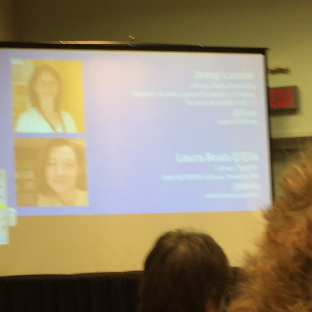 @jluss and @ldelia sharing lots of tips and info about guided inquiry. Can't wait to learn more & implement #aasl15 https://t.co/LfcloP0gNj