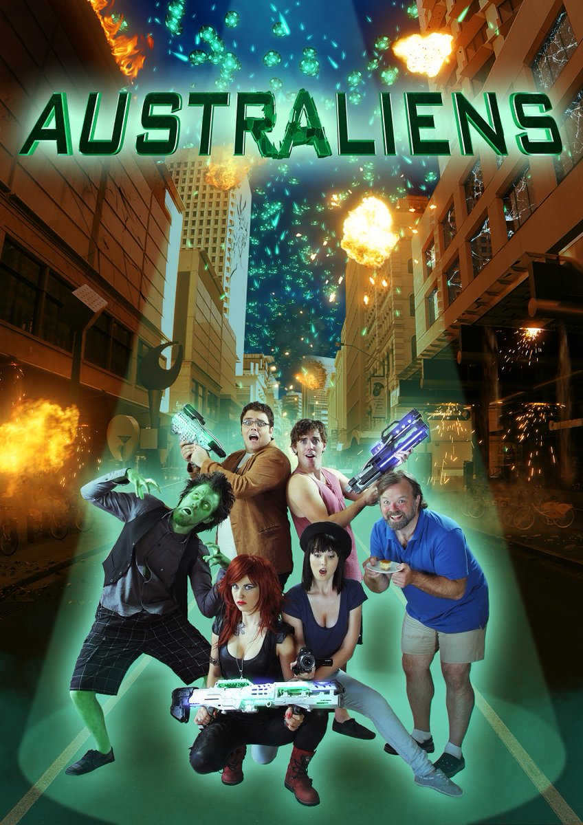 Don't miss ASTRALIENS Today at 1pm @BuffaloDreams! Hilarious sci-fi comedy about aliens invading…Australia https://t.co/stsqMStkA7