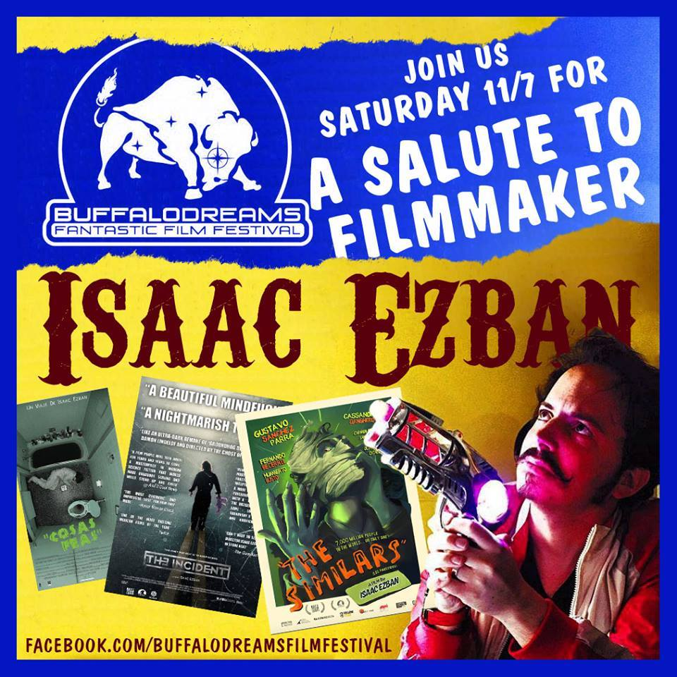 Today at 3:30 @BuffaloDreams begins our Salute to @IsaacEzban of with a celebration of his incredible films! https://t.co/FyvOKT4saR