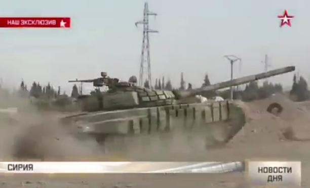 الجيش السوري يبدأ رسميا باستخدام دبابات T-72B  CTPOq6kVEAARakb