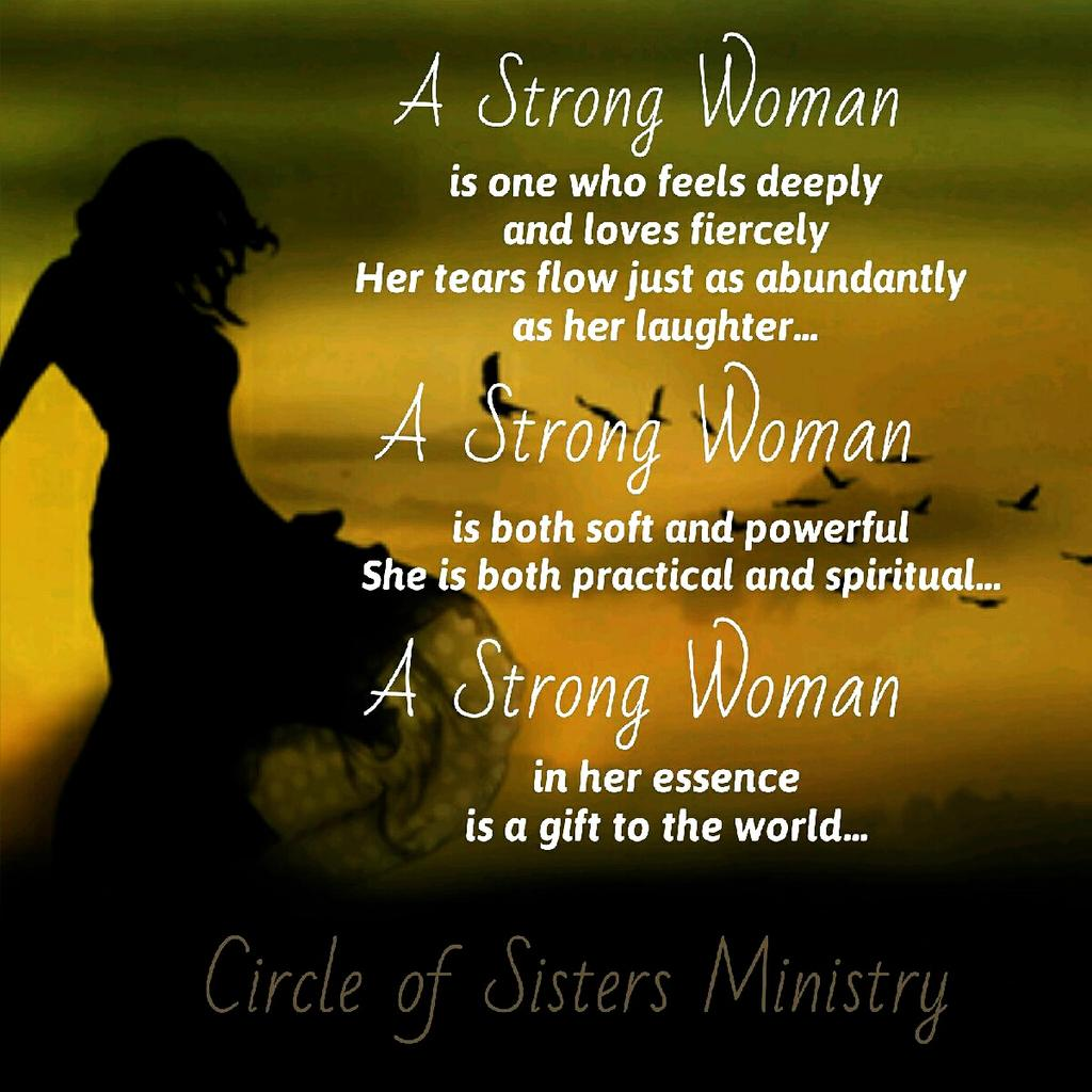 """Circle Of Sisters On Twitter: """"A Strong Woman ♥ Ladies Ur"""