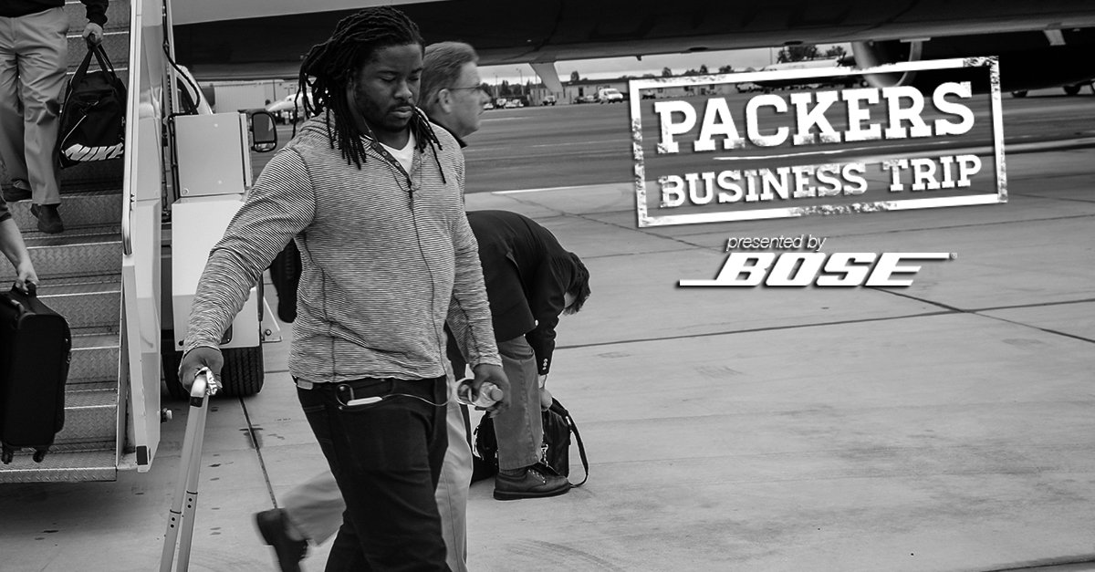 See more photos from today's #PackersBusinessTrip to North Carolina: https://t.co/ADGqmjc095 #GBvsCAR https://t.co/SiZrA3ljtj