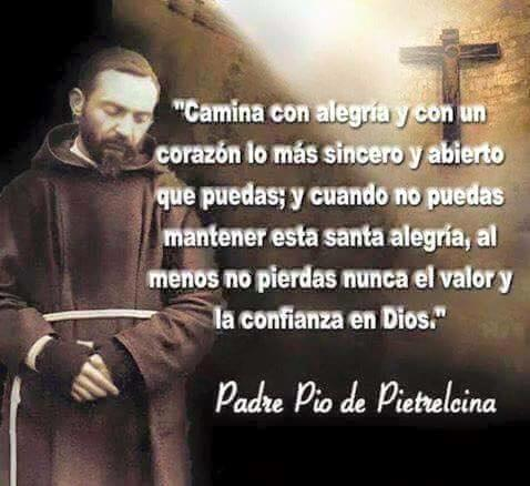 Frases Padre Pio De Pietrelcina Mensagens De Aniversario