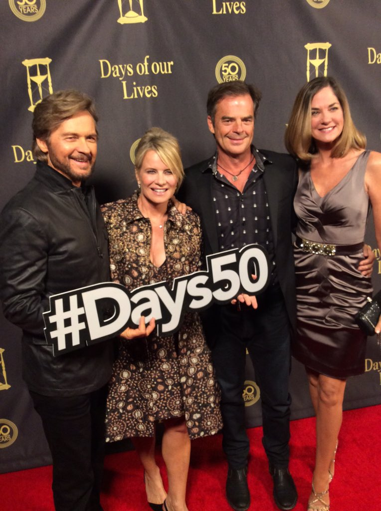 What a good looking group walking the carpet #Days50 https://t.co/YITWflNwmr
