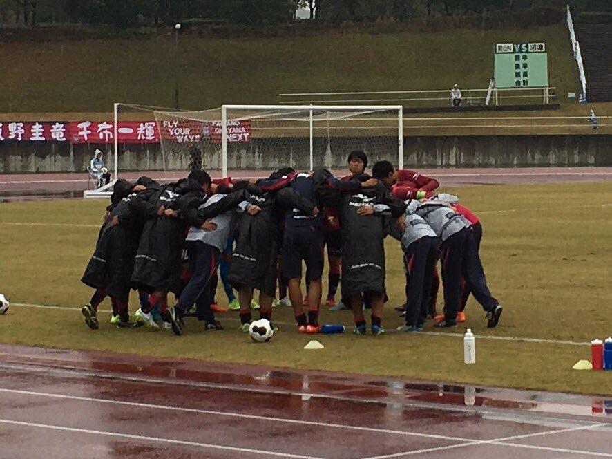 ファジアーノ岡山ネクストホーム最終戦。試合に勝ち、その後はセレモニーとサポーターの皆さんとの握手で終わりました(^o^) https://t.co/TR4dVhvDwY