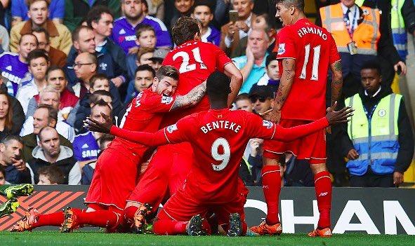 Liverpool v Crystal Palace [Team Sheets]