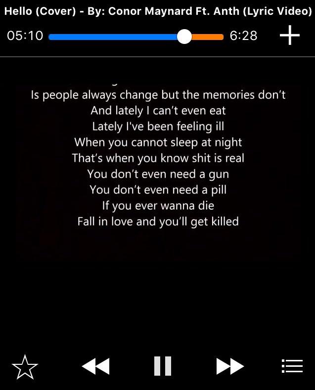 when you fall in love lyrics