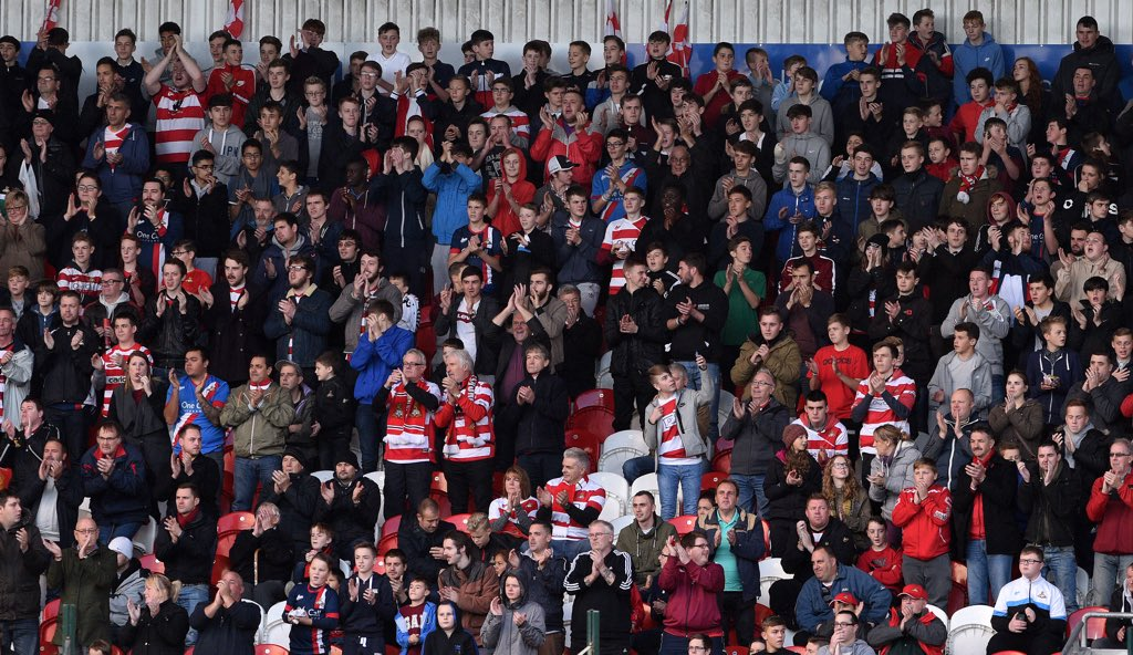 RT @drfc_official: 26 MINUTES: What a noise around the Keepmoat yesterday as we celebrated a record breaker #DRFC #469 https://t.co/LtVG5Q9…