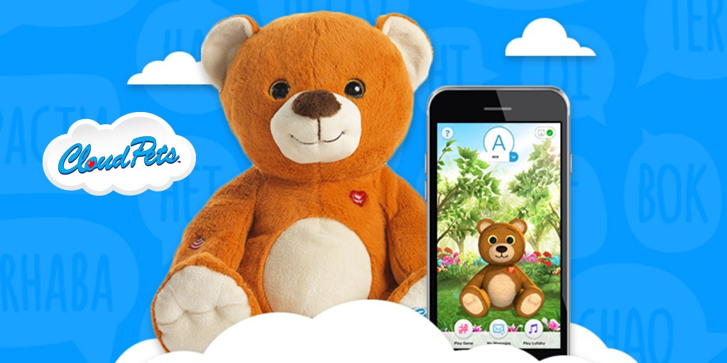 @Cloudpets are perfect for long distance family members to keep in touch with little ones!  https://t.co/CDfl7BAWOW https://t.co/CErKA4wKsG