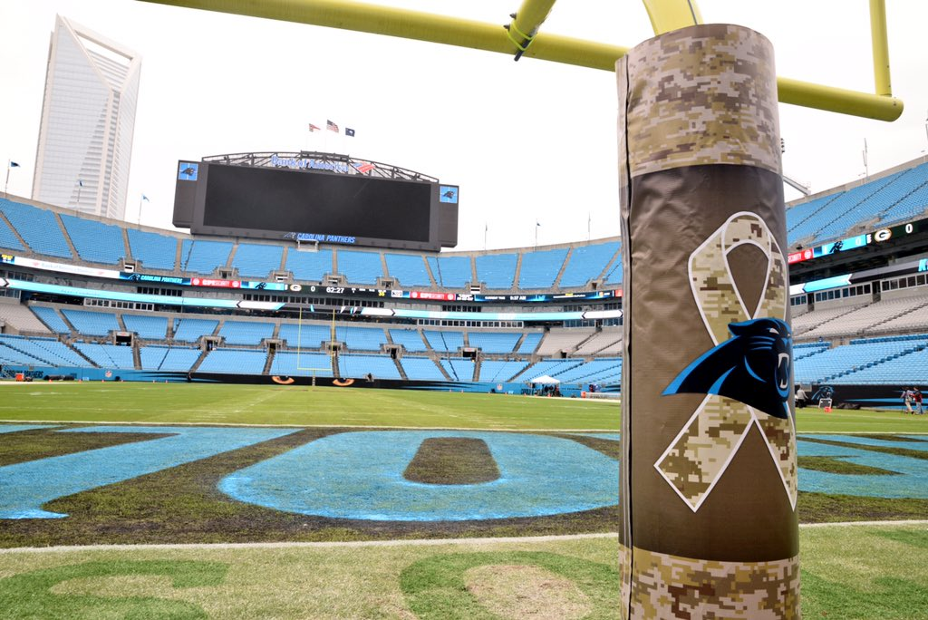 The stage is set. #GBvsCAR https://t.co/nbRYYoUycD