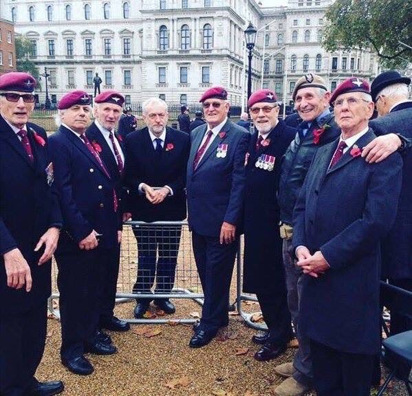 Damn that Jeremy Corbyn. Disrespecting veterans by talking to them instead of attending a VIP lunch. https://t.co/cTMAAt2ikt