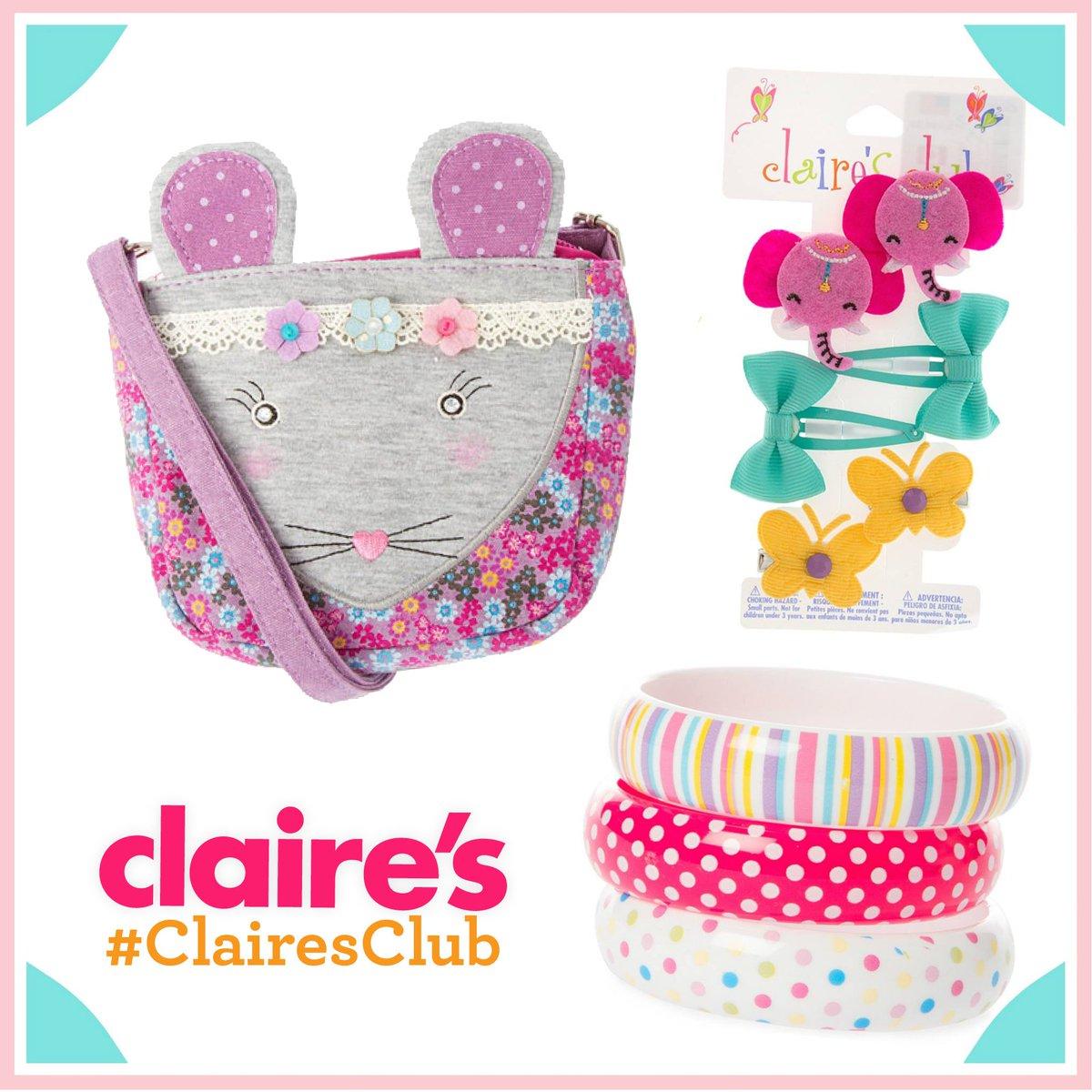 ¡Las pequeñas coquetas encuentran su estilo en #Claires! :D https://t.co/uXUpwz7oSe