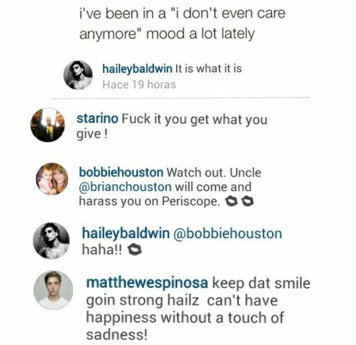 Hailey Baldwin News On Twitter Check Out Some Comments By Haileys Friends At Her Latest Post Instagram Tco LEXBxqda1f