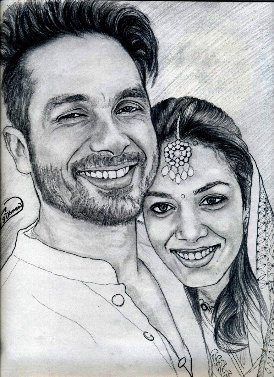 Surendra dhruw on twitter my new pencil sketch for shahidkapoor https t co zr7q4wwpd4