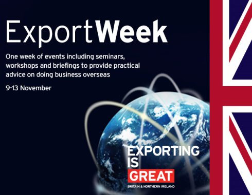 Export Week - full of events and conversations to help you get into exporting