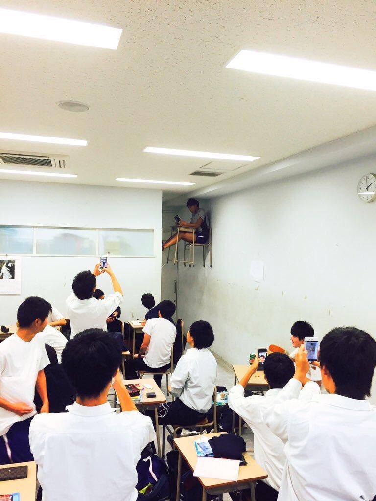 クラスで浮いた存在