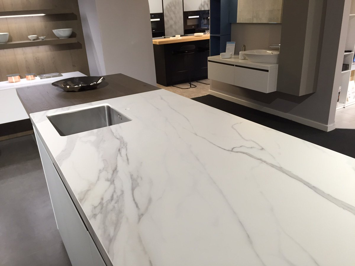 Neolith qfd on twitter neolith estatuario silk on for Encimeras porcelanicas neolith