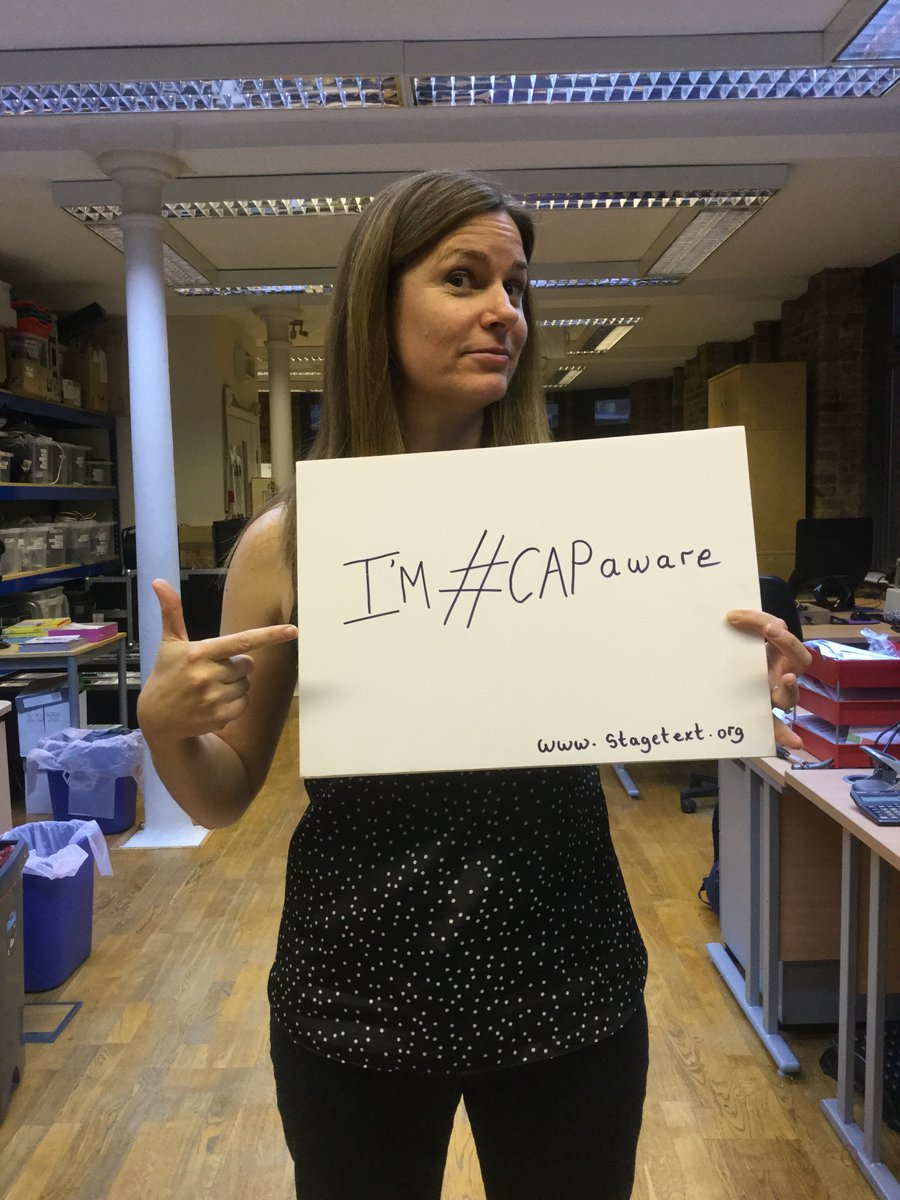Friends, I'm supporting #CAPAware 9-15 November. @stagetext! RT if #EveryWordCounts for you too! https://t.co/mEzx3pTIpS