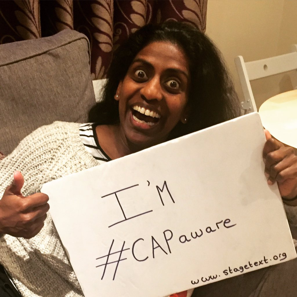 Look at me as mad woman! It is Captioning Awareness Week @Stagetext #CAPaware https://t.co/4Cp6I4XXbu