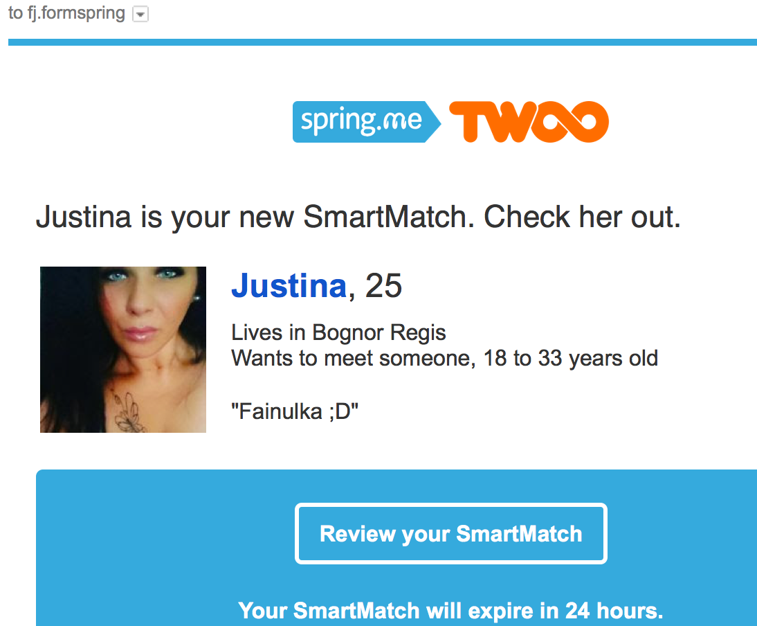 Spring me dating site