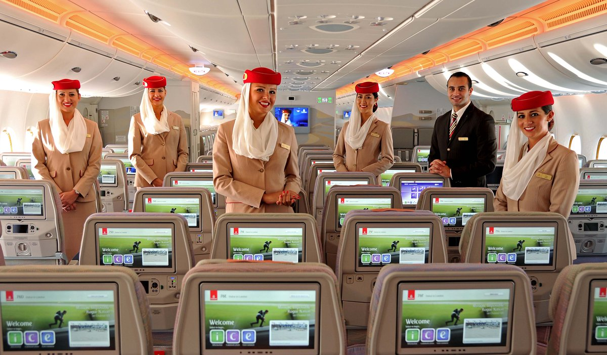 If You Love Packed Planes, Emirates' New 615-Seat Jet Is For You