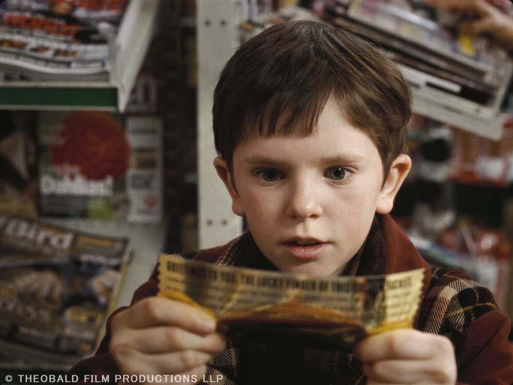映画『チャーリーとチョコレート工場』名言
