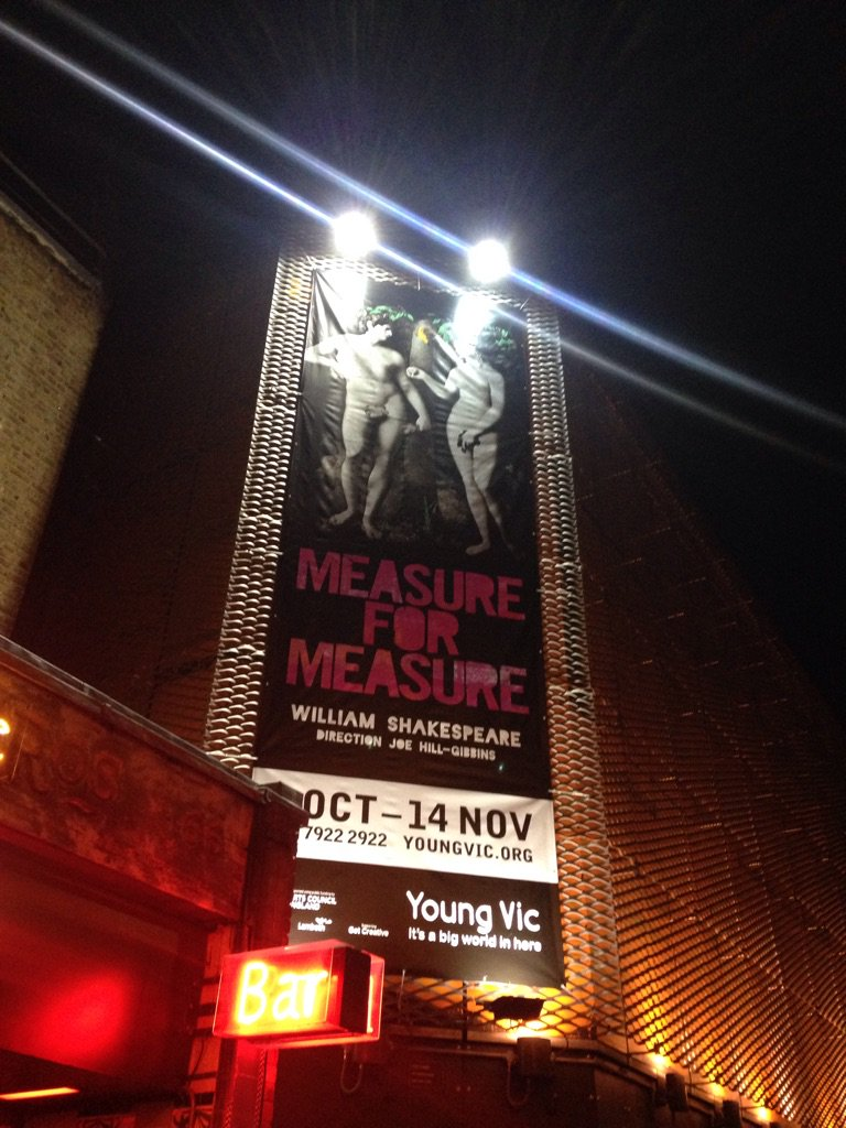 Blown away by this production @youngvictheatre #measureformeasure #RomolaGarai #Shakespeare #JoeHillGibbins https://t.co/PFYQFRM2Md