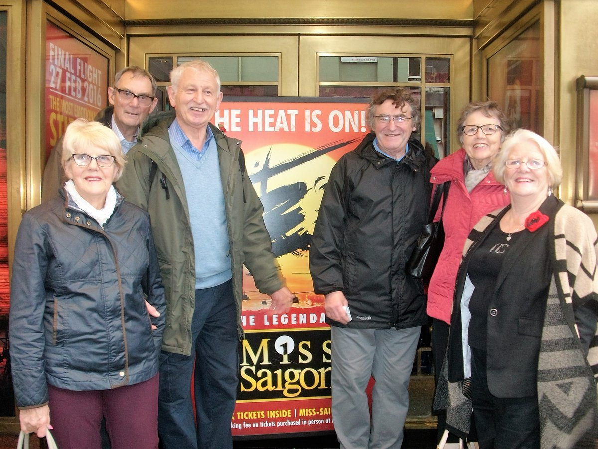 Sheffield Caption Support Group @MissSaigonUK last Saturday for the captioned show 'the show was amazing' #CAPaware https://t.co/i4cjm5cFWh