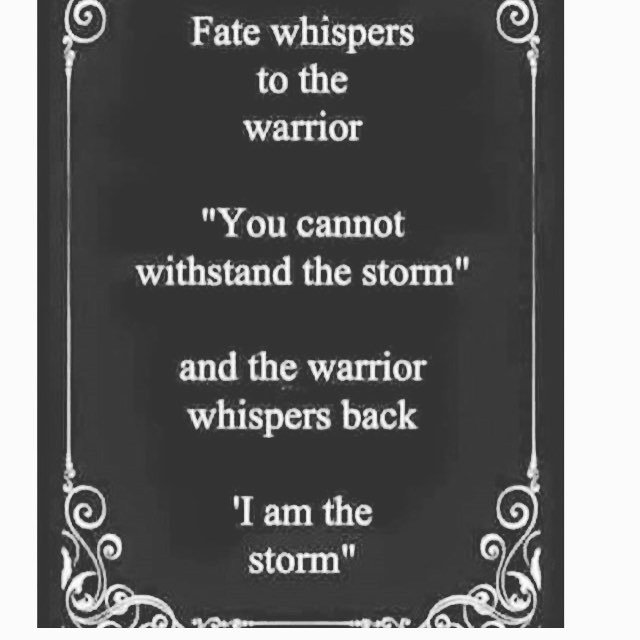 Be Inspired On Twitter I Am The Storm Quote Quoteoftheday