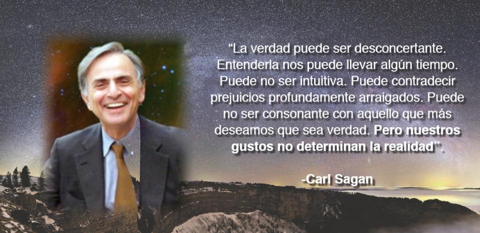 Carl Sagan Frases в Twitter Nuestros Gustos No Determinan