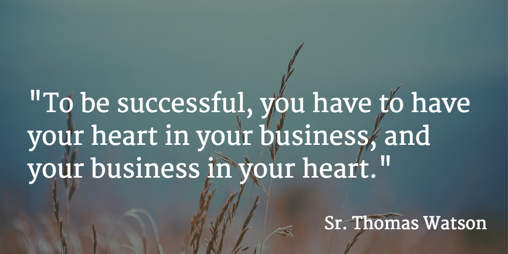"""To be successful, you have to have your heart in your business, & your business in your heart."" #mondaymotivation https://t.co/QvjegLUPtQ"