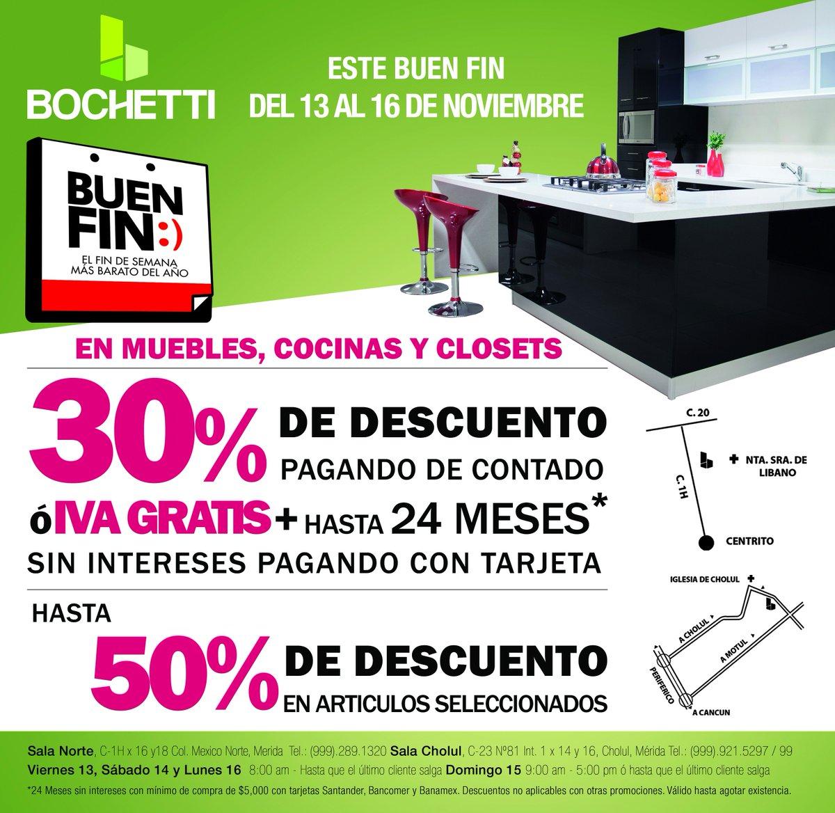 Bochetti Cocinas Bochetticocinas Twitter # Muebles Buen Fin