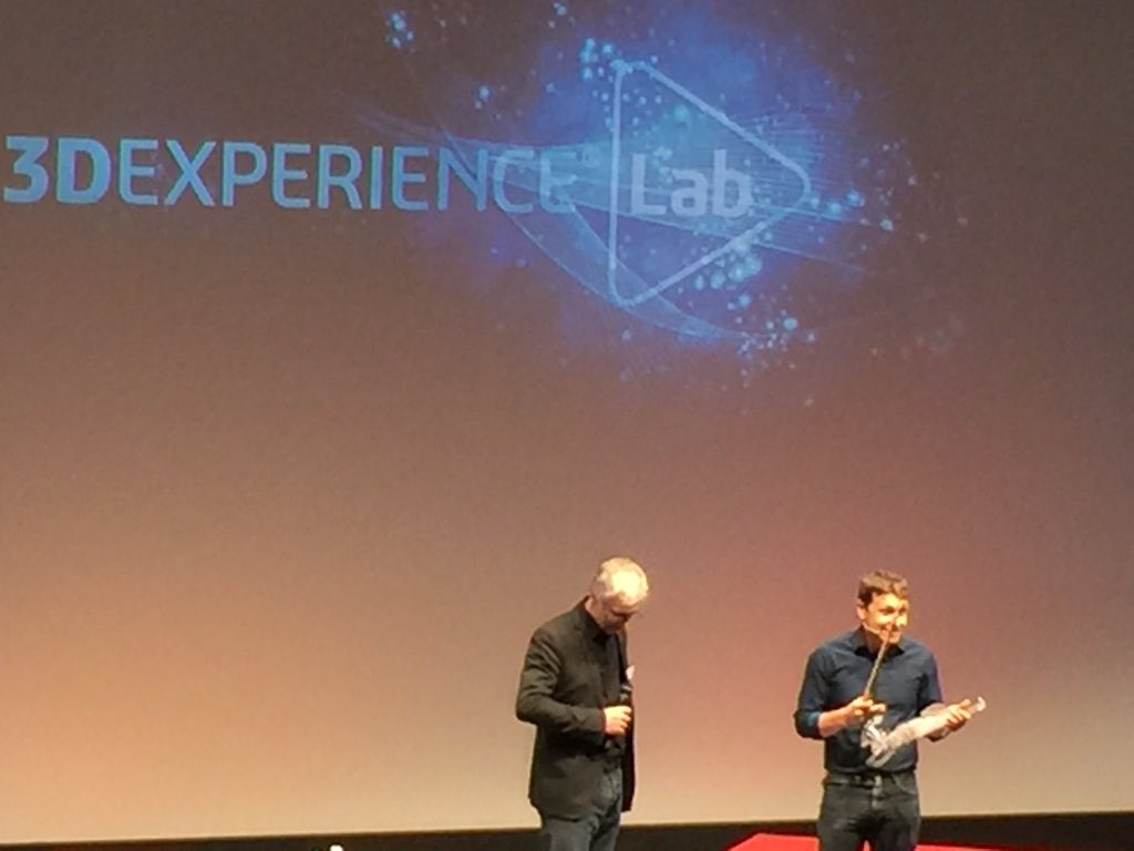 Lancement de #3DEXPERIENCELab bravo @BernardCharles https://t.co/9N0iU2mVqG
