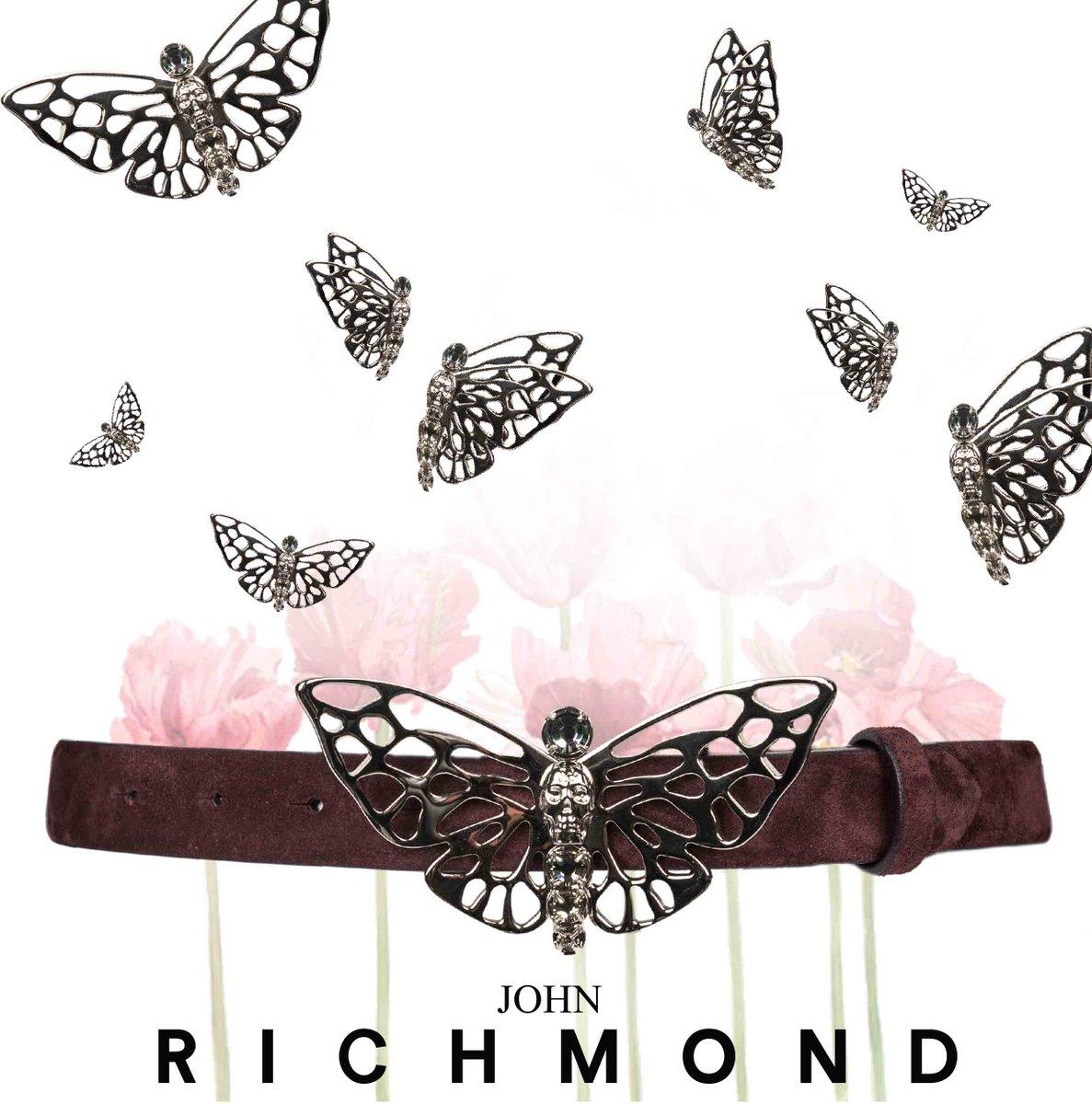 #johnrichmondofficial #johnrichmond #accessories #belt #buttefly #fw1516 #fashion #accessori #cintura #farfalle https://t.co/CEAyfP6kqZ
