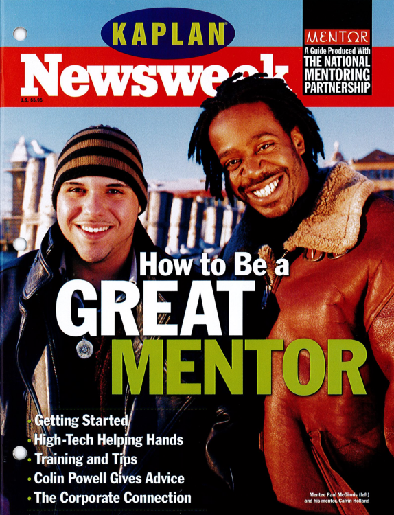 "This ""How To Be a Great #Mentor"" @Newsweek cover came out in 1999! Who still has their edition? #MENTOR25Years https://t.co/HEF5Uaqd8S"