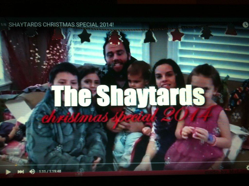 0 replies 0 retweets 2 likes - Shaytards Christmas