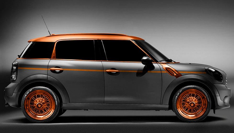 #Steampunk Awesome of the Day: #Carlex #Mini #Countryman #MiniCooper #Car by @zercustomscom  via @AdmarkUK #SamaCars