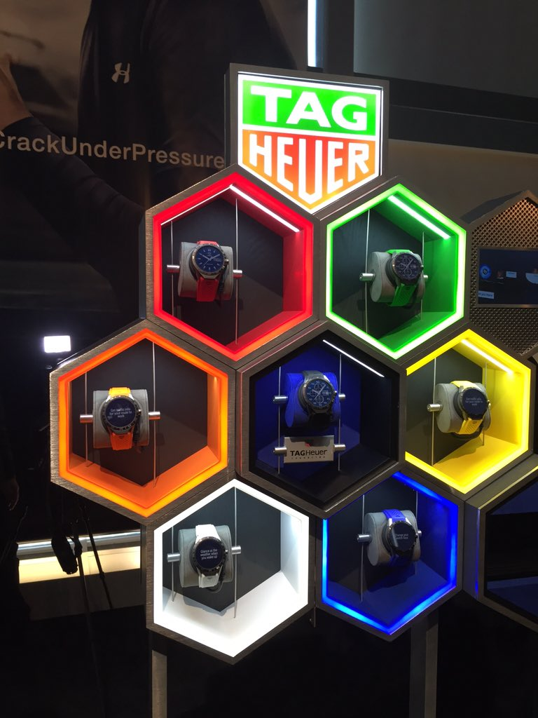 TAG Heuer's luxury smartwatch runs Android Wear and costs $1,500