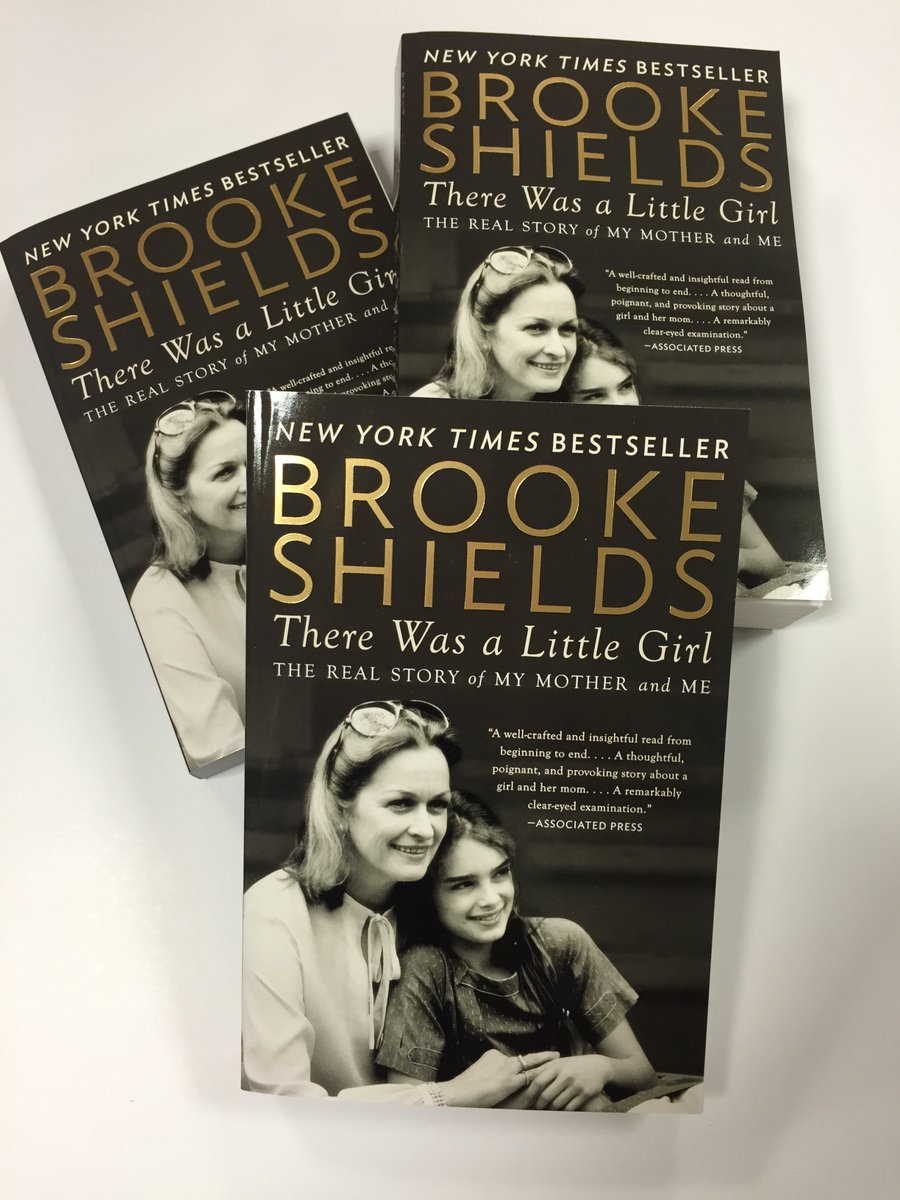 Win a copy of #ThereWasaLittleGirl by @BrookeShields! Follow @PlumeBooks & RT to enter https://t.co/Cx3devRJYD