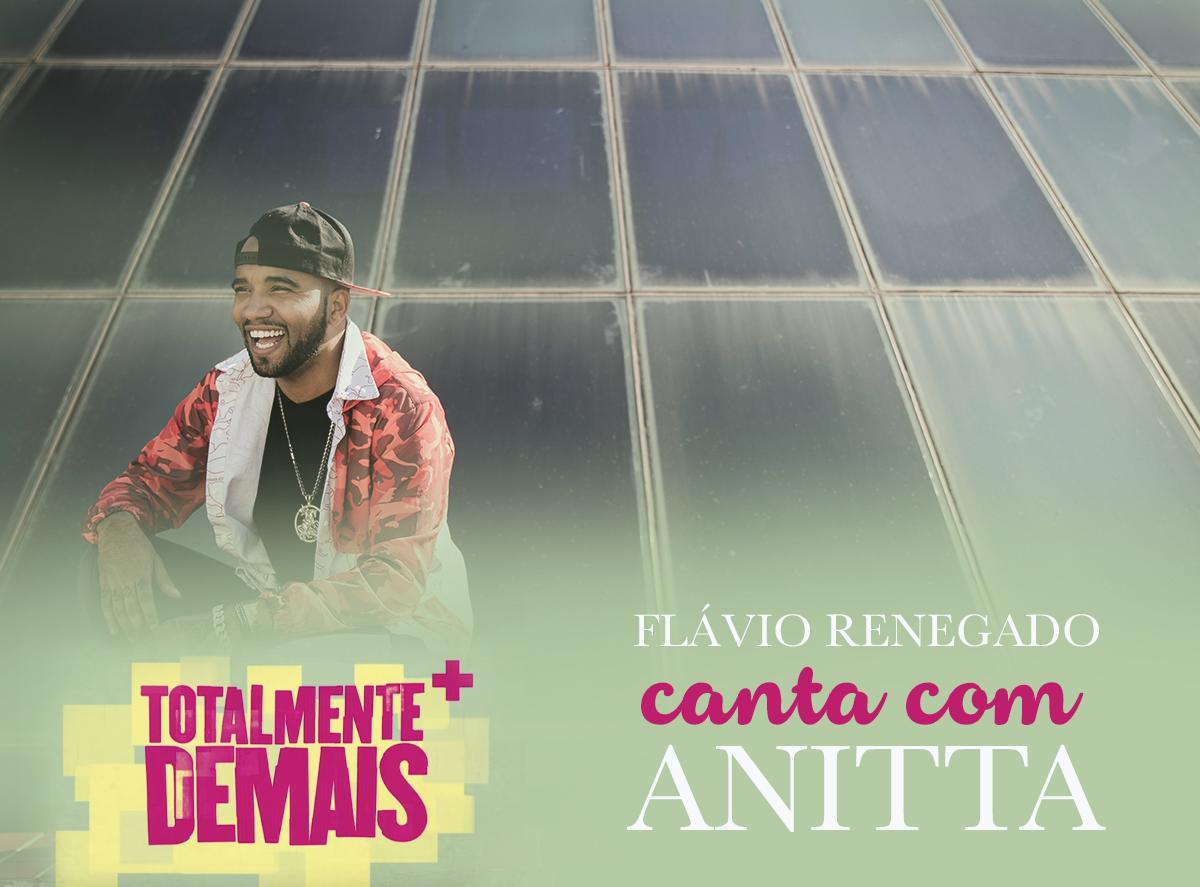 """Grande prazer cantar ao lado da @Anitta na abertura da novela """"Totalmente Demais"""" que estreia daqui a pouco! É noiz! https://t.co/5hQ9fa4QfC"""