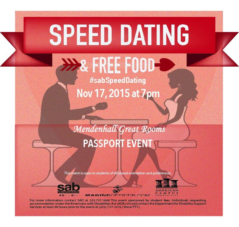 ecu speed dating seaman dating website