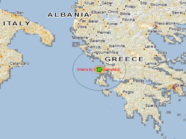 Terremoto magnitudo 6.5 in Grecia: avvertito anche in Puglia, Calabria e Sicilia